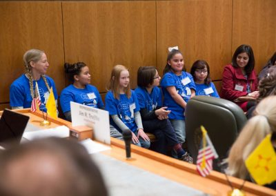 Kids at NM State Legislature